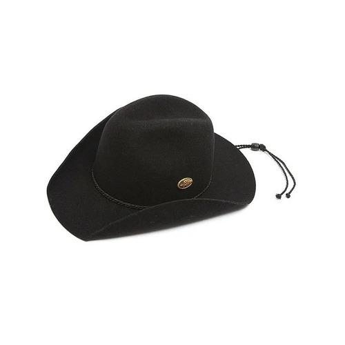chapéu pralana kid infantil preto 100% lã.