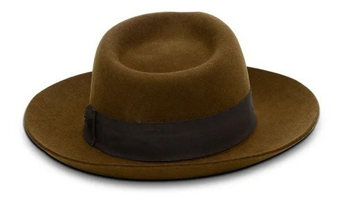chapéu pralana social café novo 100% lã 1204