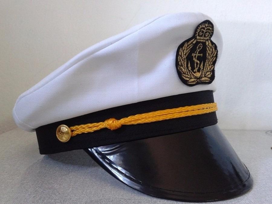 chapéu quepe boina marinheiro marinha fantasia festa cosplay. Carregando  zoom. 08f25123cdc
