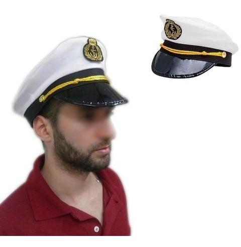 chapéu quepe boina marinheiro marinha festa fantasia unissex
