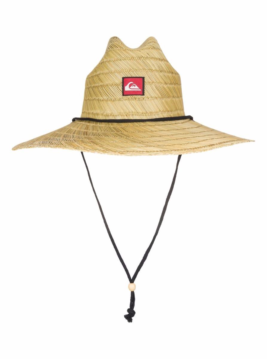 7b373164a0874 chapéu quiksilver pierside palha praia original + nf. Carregando zoom.