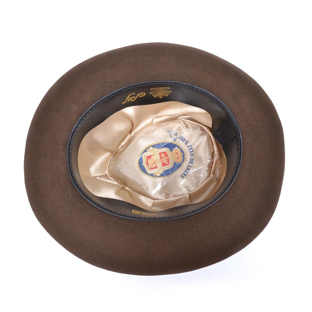 chapéu ramenzoni cury pelo de lebre café novo. Carregando zoom. cff2d220c1b