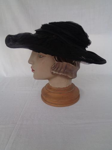 chapéu renda vintage nº 50