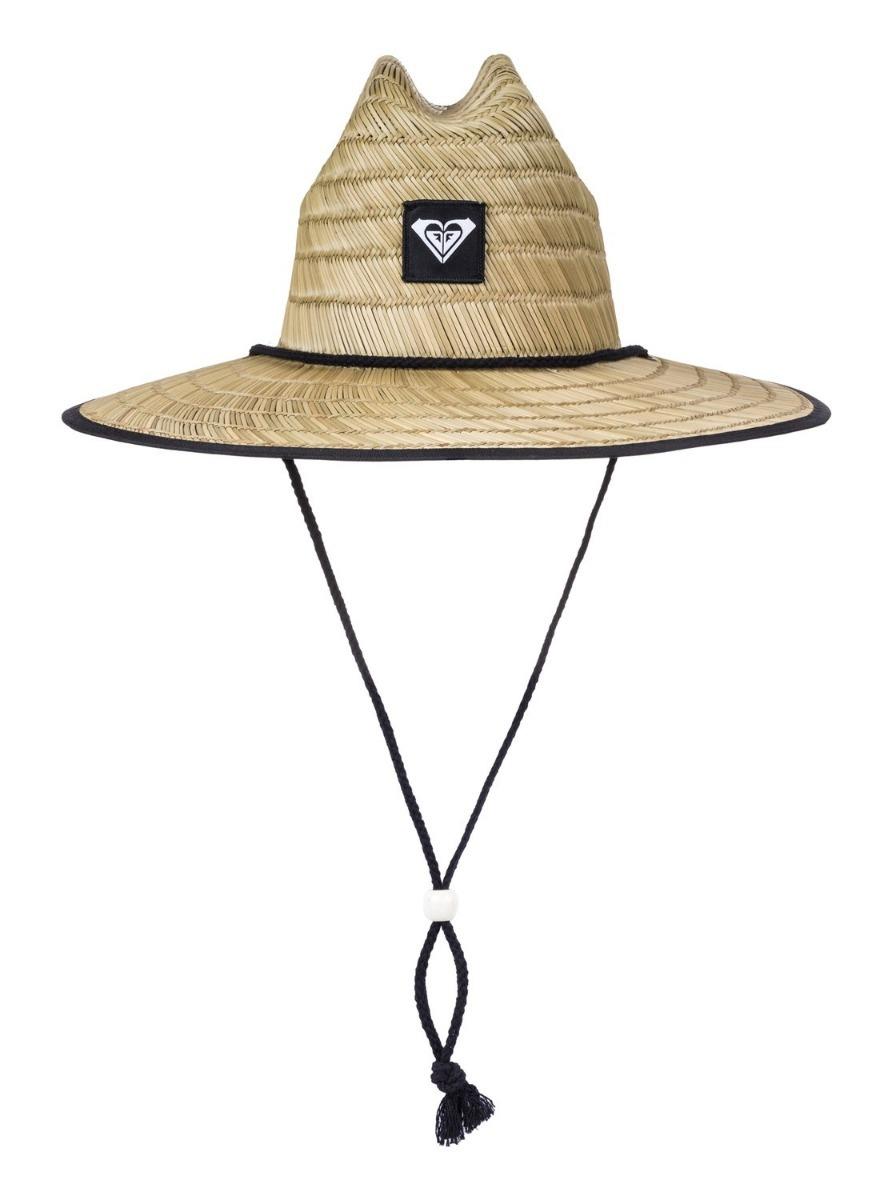 4bdd0785a55c7 chapéu roxy tomboy 2 imp palha praia original + nota f. Carregando zoom.
