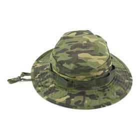 Chapeu Selva Tático Militar Boonie Hat  Airsoft Pesca