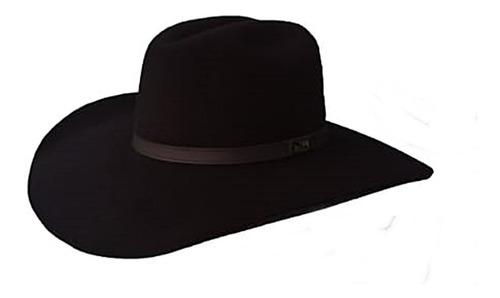 chapéu sorocaba country preto aba grande rodeio poliamida