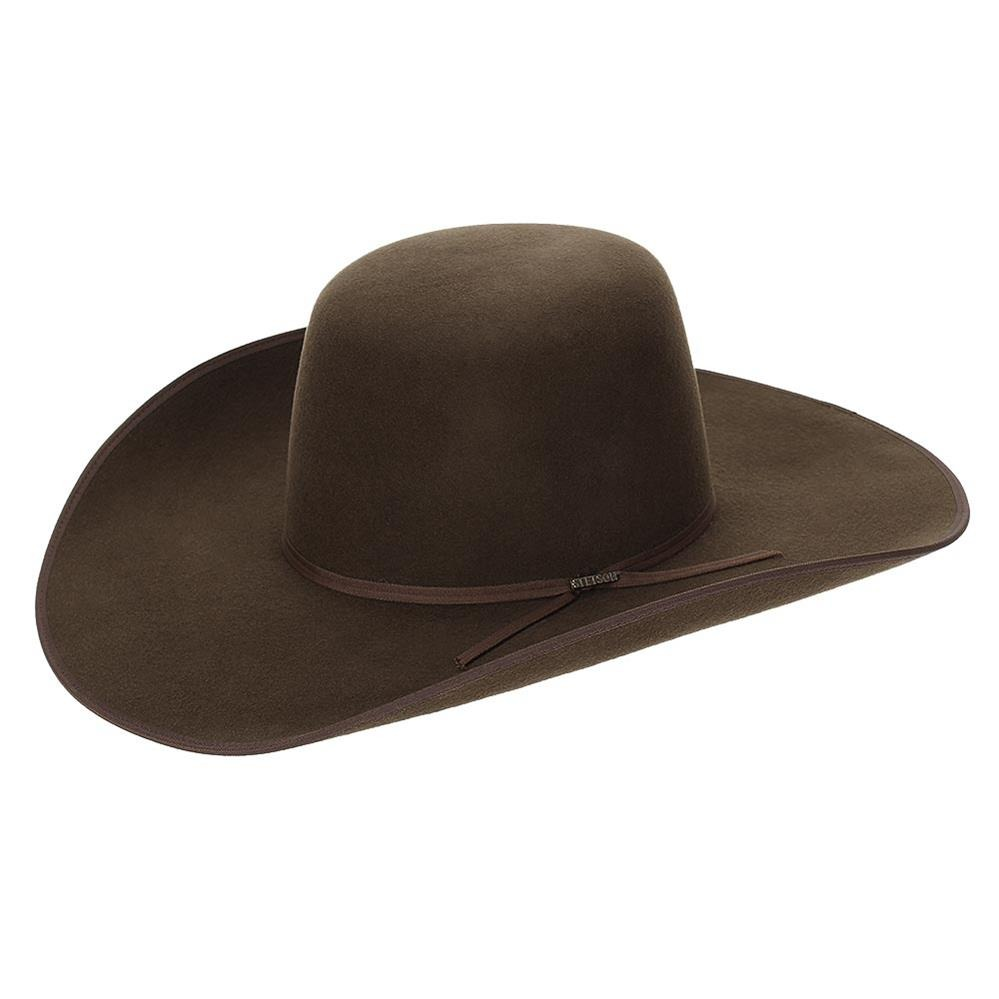chapéu stetson de feltro 3x premium wool tabaco 19718. Carregando zoom. d6ffde16d3d