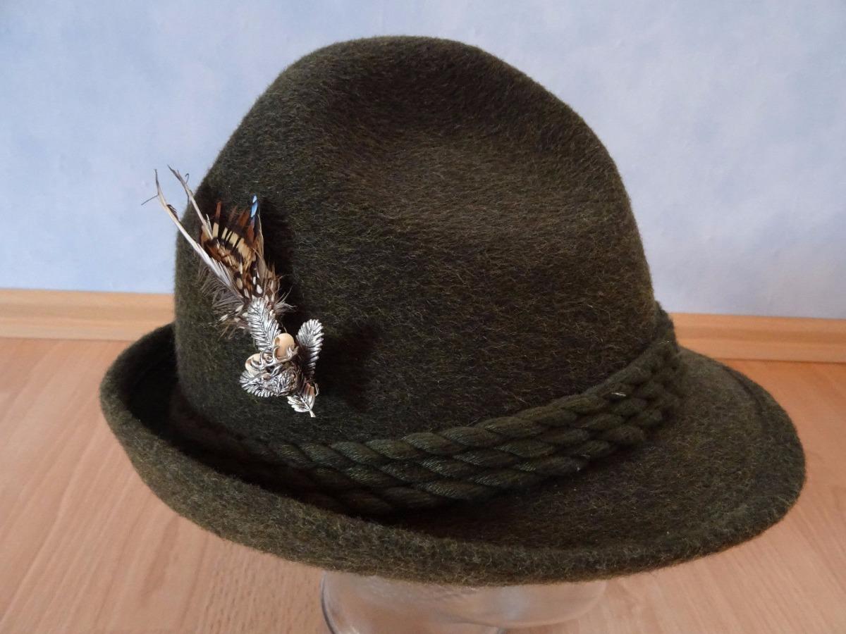 chapéu típico alemão importado + 2 pins ! traje. oktoberfest. Carregando  zoom. 14cc66ac58c