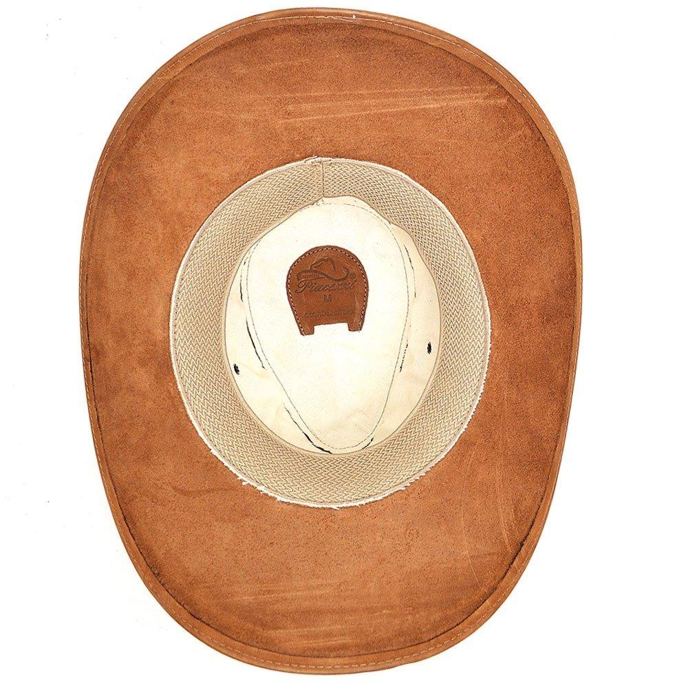 chapéu tipo australiano piacezzi em couro - whisky. Carregando zoom. 6303da08dbb