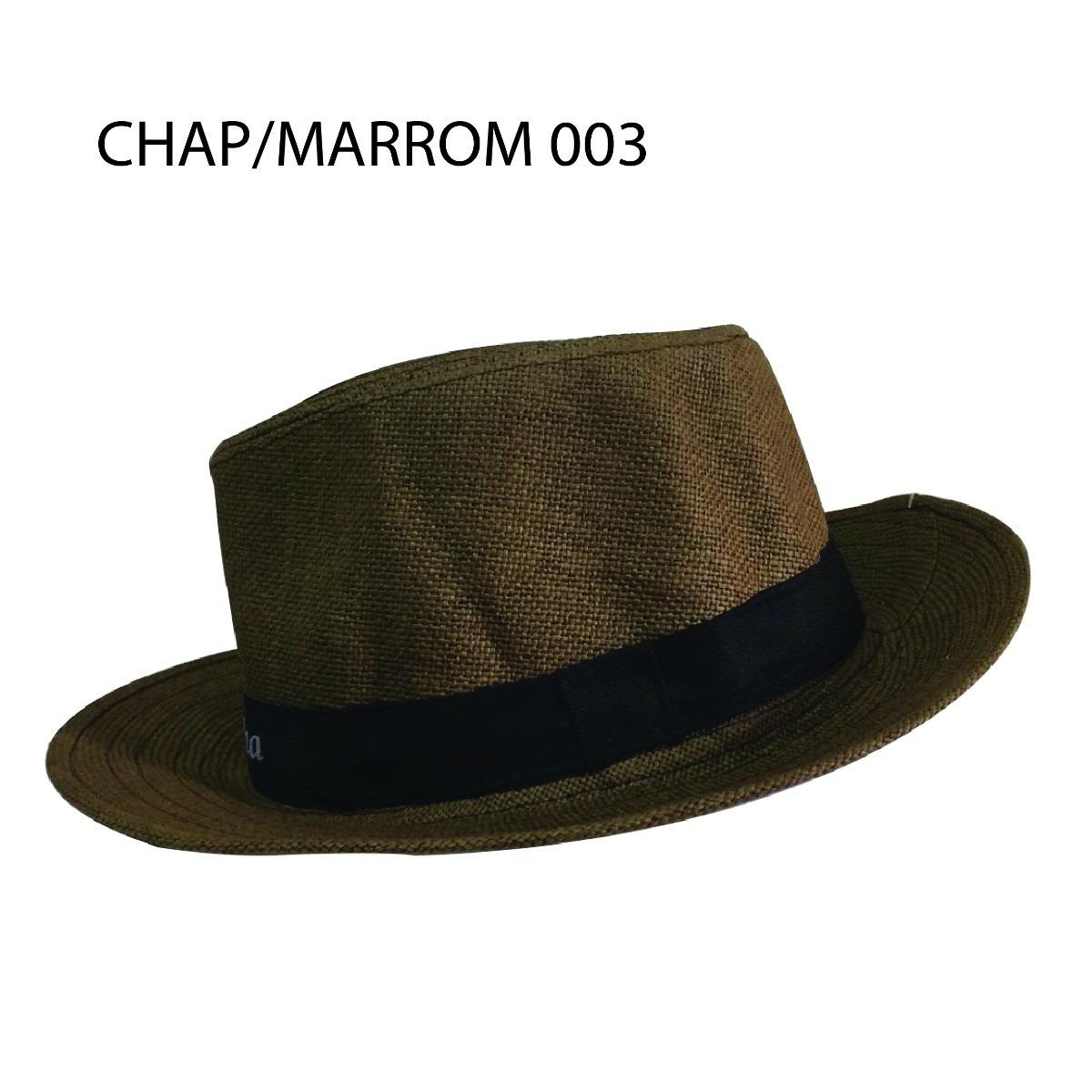 chapéu tipo panamá modelo social clássico unissex moda praia. Carregando  zoom. fde0ee58426