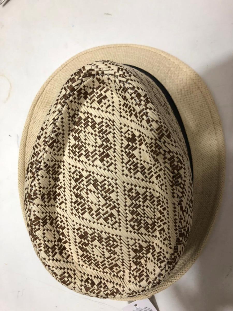 chapeu unissex palha panama fedora linha top qualidade dif. Carregando zoom. 93824620cca