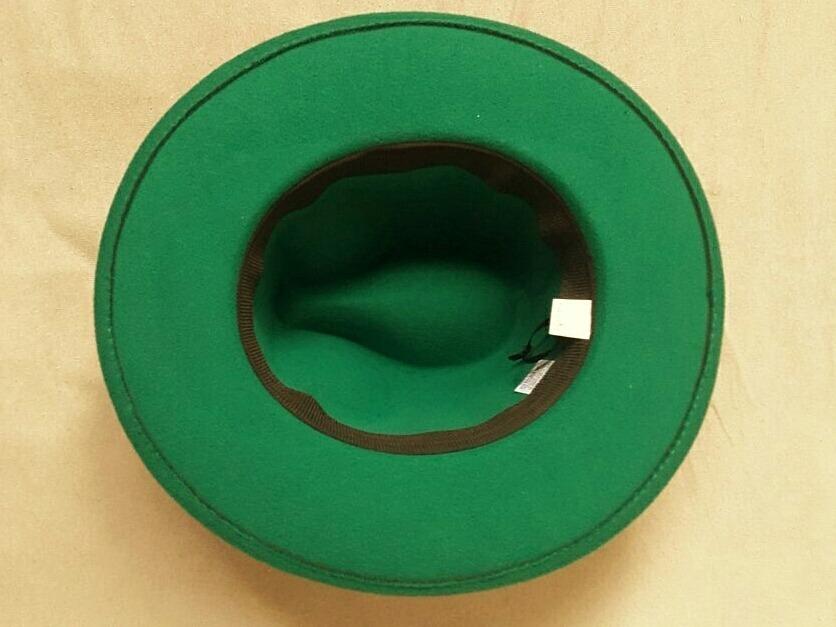 chapéu verde fedora panama fantasia. Carregando zoom. 6b3b2890b4e