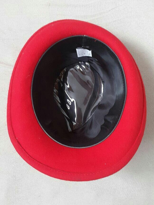 chapéu vermelho fedora panama fantasia. Carregando zoom. dfec57455c1