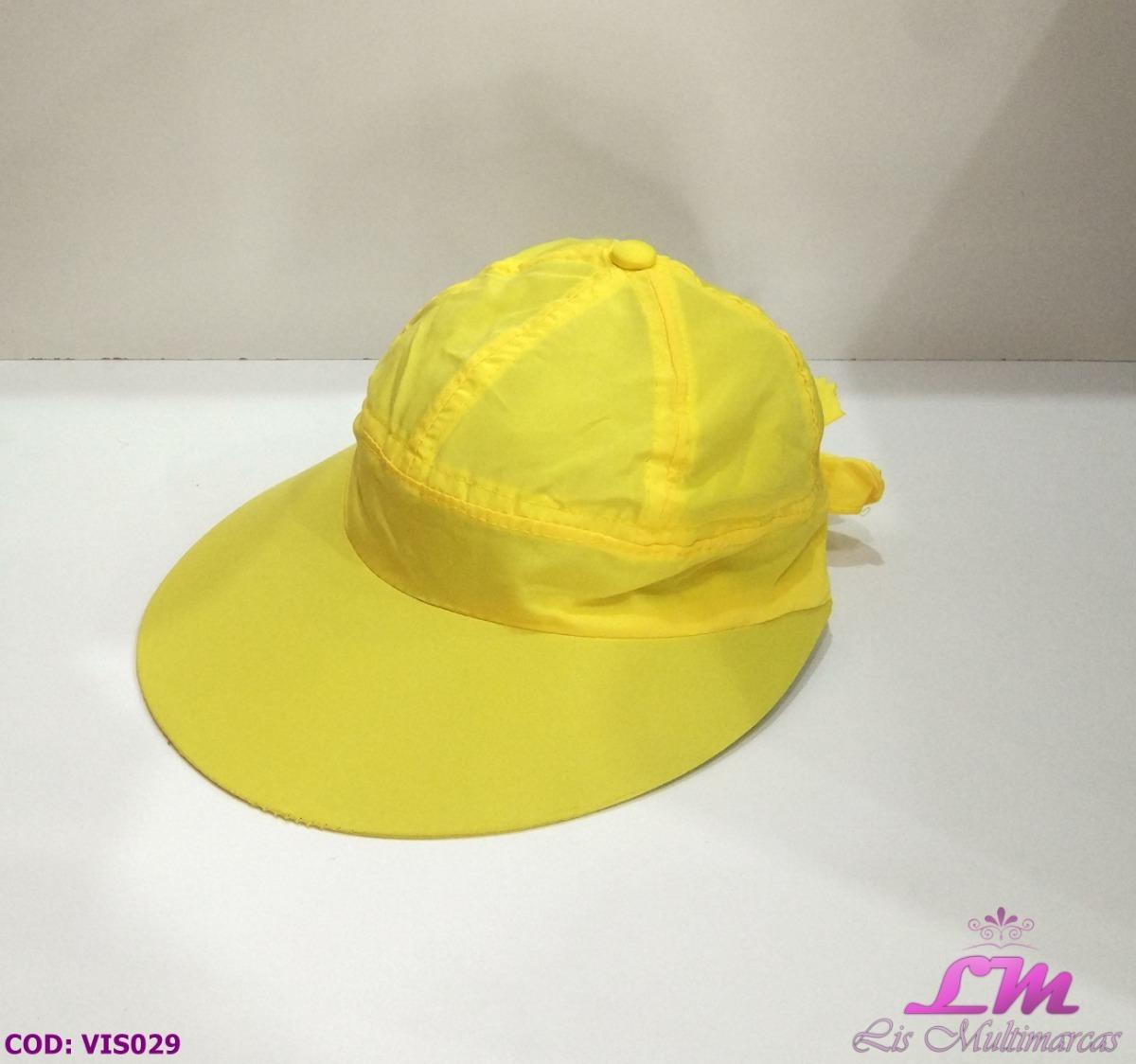 Chapéu Viseira Boné Feminino - Amarelo (praia 10db57caf5d
