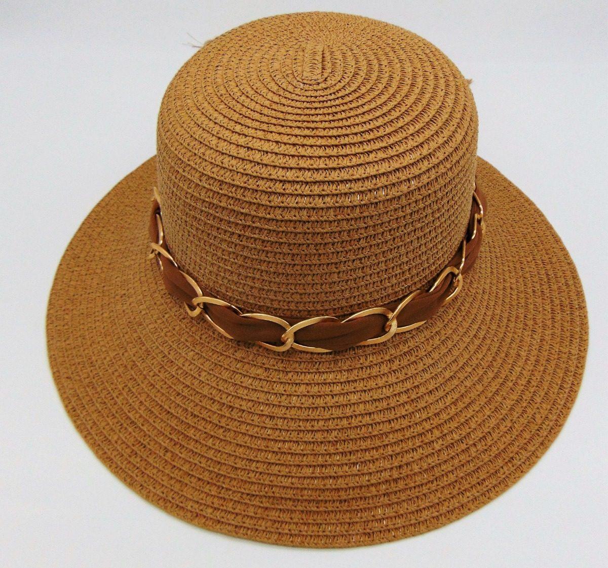 1fe9282300 chapéu viseira palha praia feminino caramelo laço lindo. Carregando zoom.