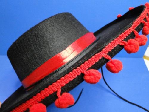 chapeu zapata mexicano zorro