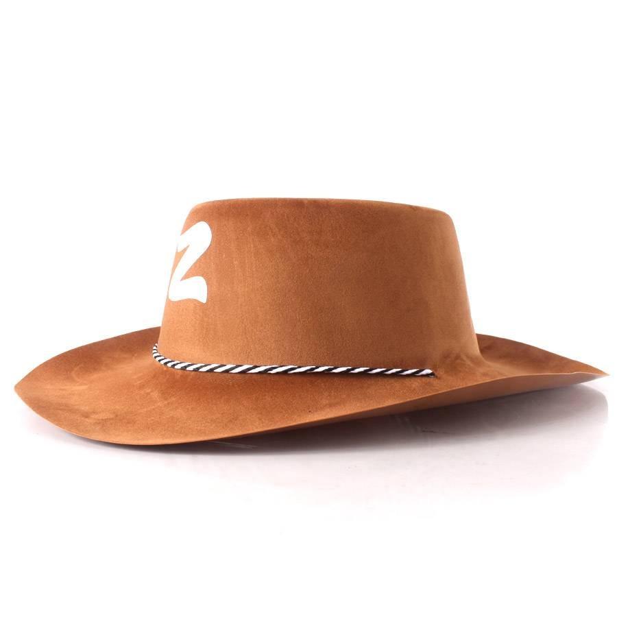 Chapéu Zorro Country Marrom Festa Junina - R  17 45df9d49c0e