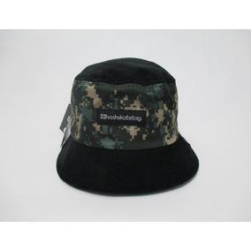 9499f408a5677 Bucket Hat Hashskatetag Camuflado Camo Formiga Original