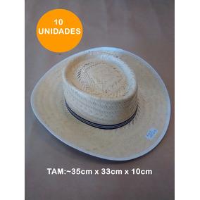 1d82e7aa33c87 Chapeu De Palha Barato Chapeus Panama - Chapéus no Mercado Livre Brasil