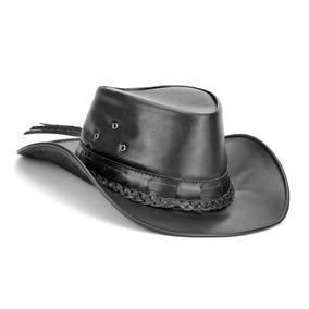 d89e99873c6b6 Chapéu Pralana Escoteiro Preto. Paraná · Chapeu Couro Masculino Country  Cowboy Pescador Feminino