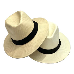 7cb3cf422e604 Chapéu Moda Panamá Tamanho 60 61 Aba Larga Tamanho Grande. 4 cores. R  59