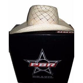 07c56e500e116 Chapeu Pbr Preto - Chapéus Country para Masculino no Mercado Livre ...