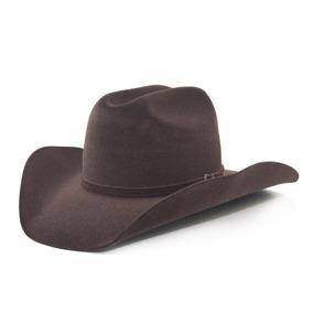 5b35b4de89c40 Chapéu Country Cowboy Rodeo Masculino Peão Barretos Marrom