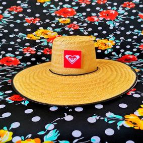 8c79975bfd73a Chapeu De Palha Surf Roxy - Acessórios da Moda no Mercado Livre Brasil