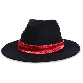 32ab87acc1a3c Chapeu Fedora Vermelho - Acessórios da Moda no Mercado Livre Brasil