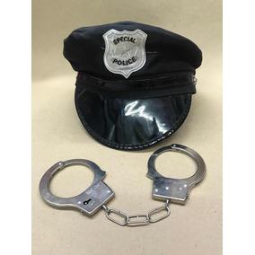 4f2a030705f50 Boina Policial Fantasia no Mercado Livre Brasil