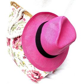 1585a3245aa77 Chapeu Panama Aba Media - Acessórios da Moda no Mercado Livre Brasil