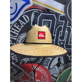 e2b21e5028943 Chapéu De Palha Quiksilver Pier Side - Chapéus no Mercado Livre Brasil