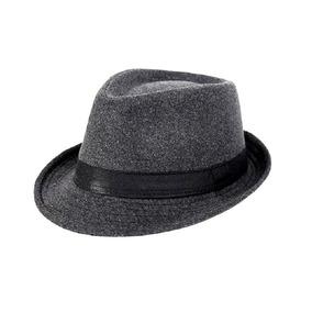 c2ee5d480575e Chapeu Fedora Masculino Aba Curta - Acessórios da Moda no Mercado ...
