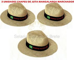 8535da2c4a Frete Gratis - Bonés, Chapéus e Boinas Chapéus Marrom-claro em Minas Gerais  com o Melhores Preços no Mercado Livre Brasil