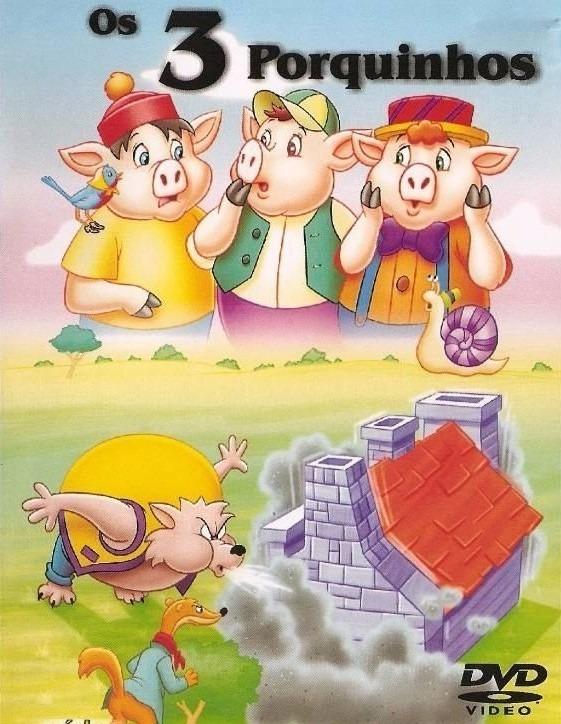o filme os tres porquinhos dublado