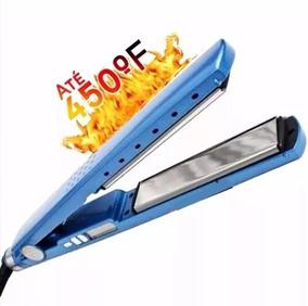 c8173572b Prancha Nano Titanium 450 F Azul - Beleza e Cuidado Pessoal no Mercado  Livre Brasil