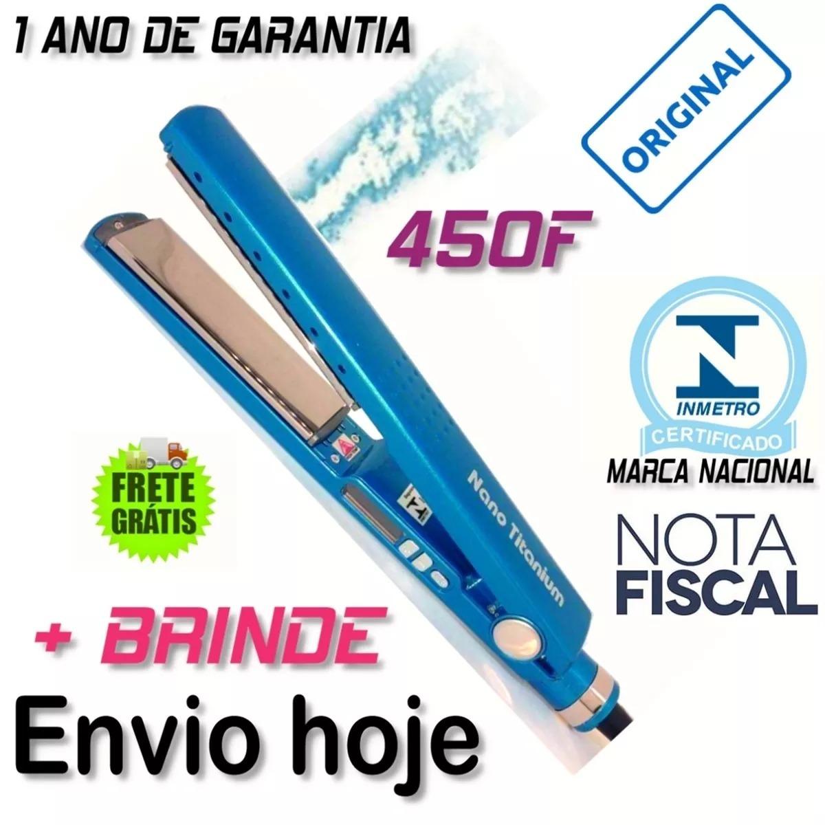 41ac2c322 Chapinha Profissional Nano Titanium Promoção - R$ 127,00 em Mercado ...