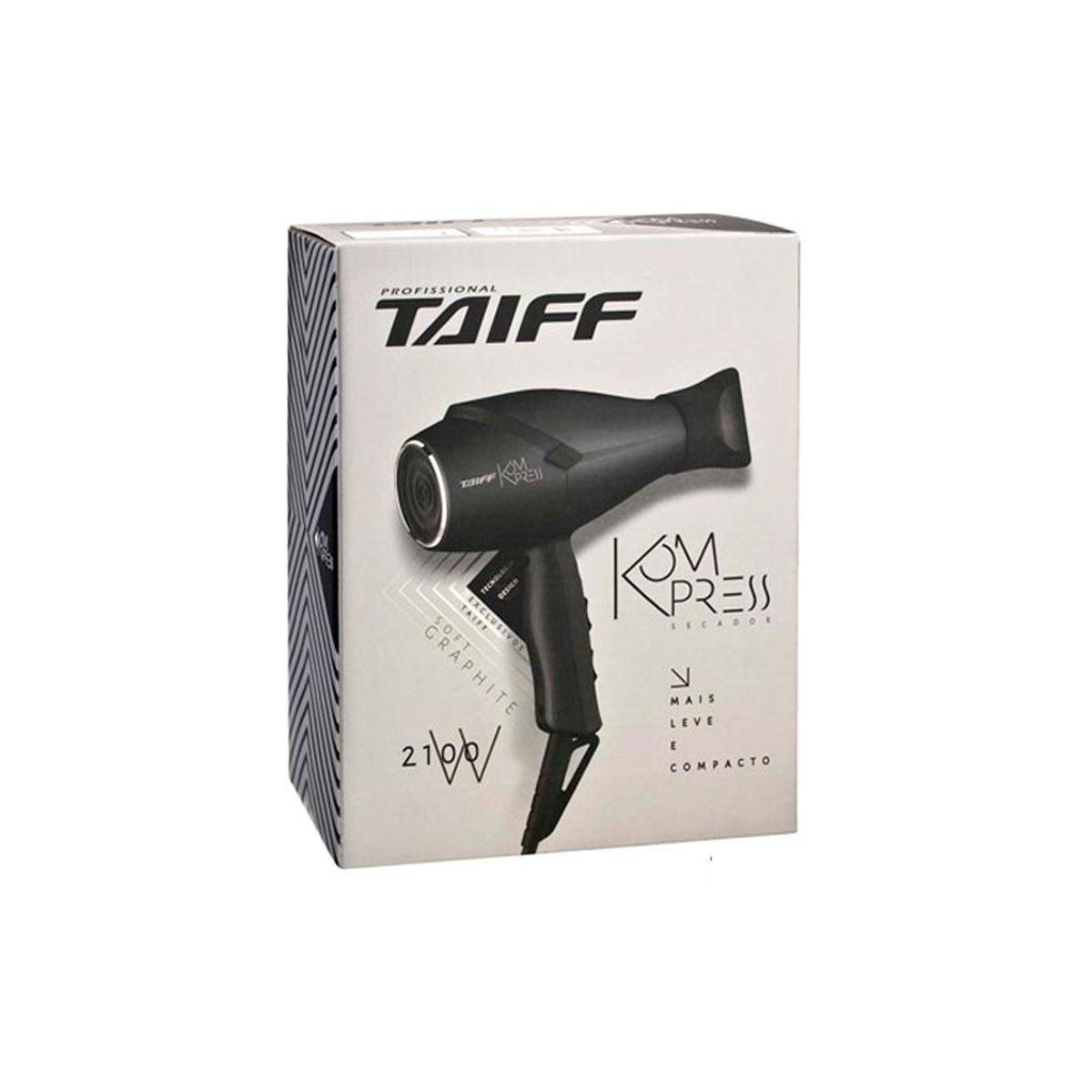 chapinha taiff titanium colors + secador taiff grafite 110v. Carregando  zoom. 0ce5d27c0e3c
