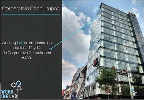 chapultepec, disfruta de tu oficina con la mejor vista, imagen y elegancia.