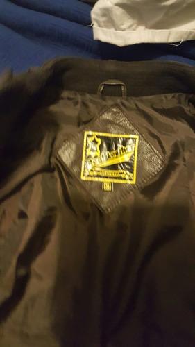 chaqueta 100% cuero talla xs