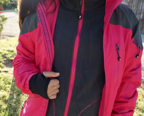 chaqueta 3 en 1 mujer peak performance - nueva envío gratis