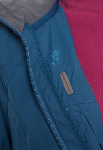 chaqueta 3 en 1 tribeca ptx azul doite