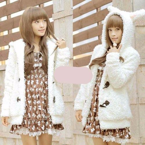 chaqueta abrigo mujer