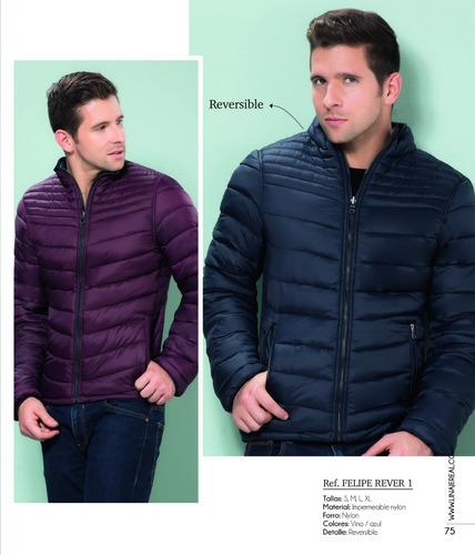 chaqueta acolchada hombre impermeable juvenil nylon