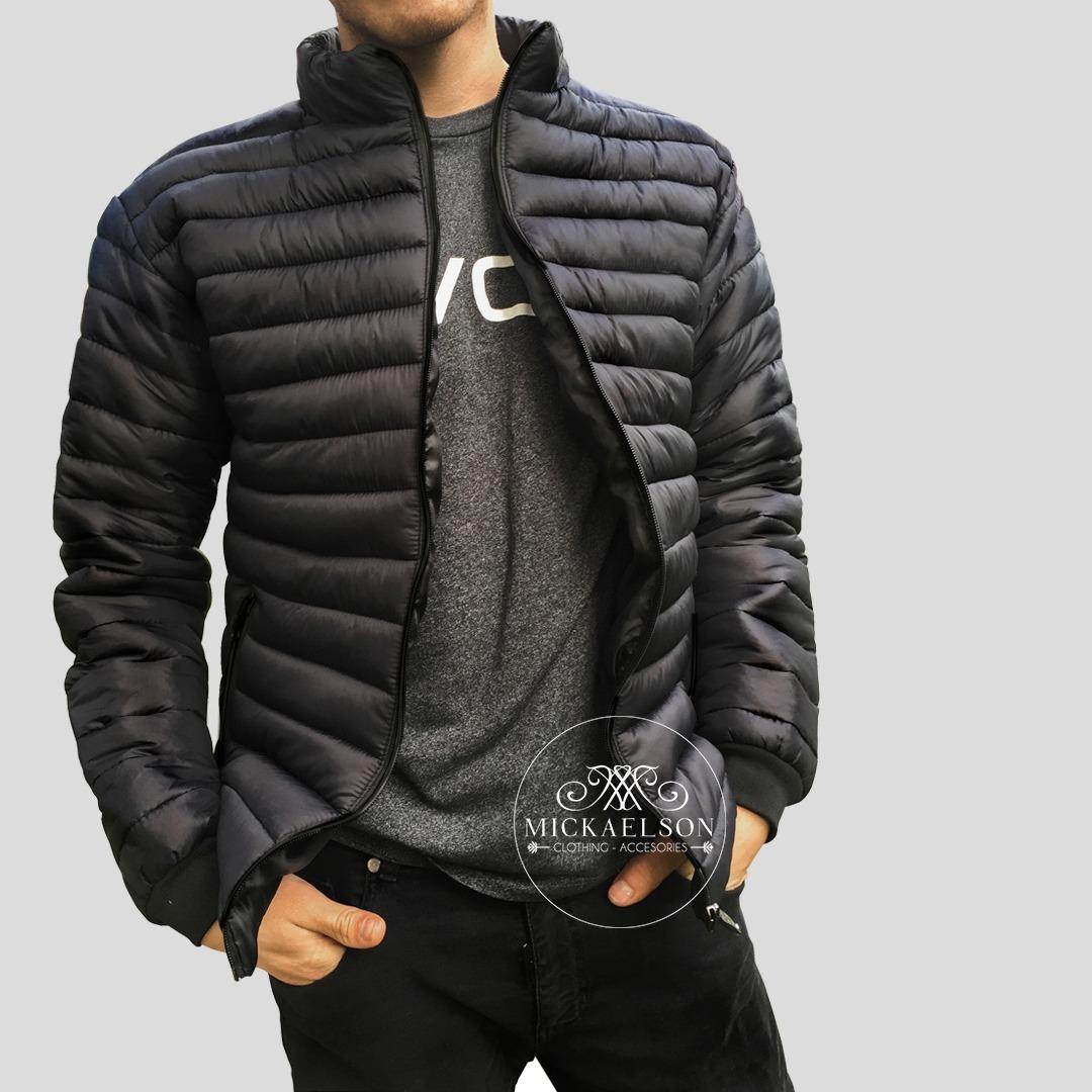 1a76b8c38 chaqueta acolchada impermeable hombre invierno mickaelson. Cargando zoom.