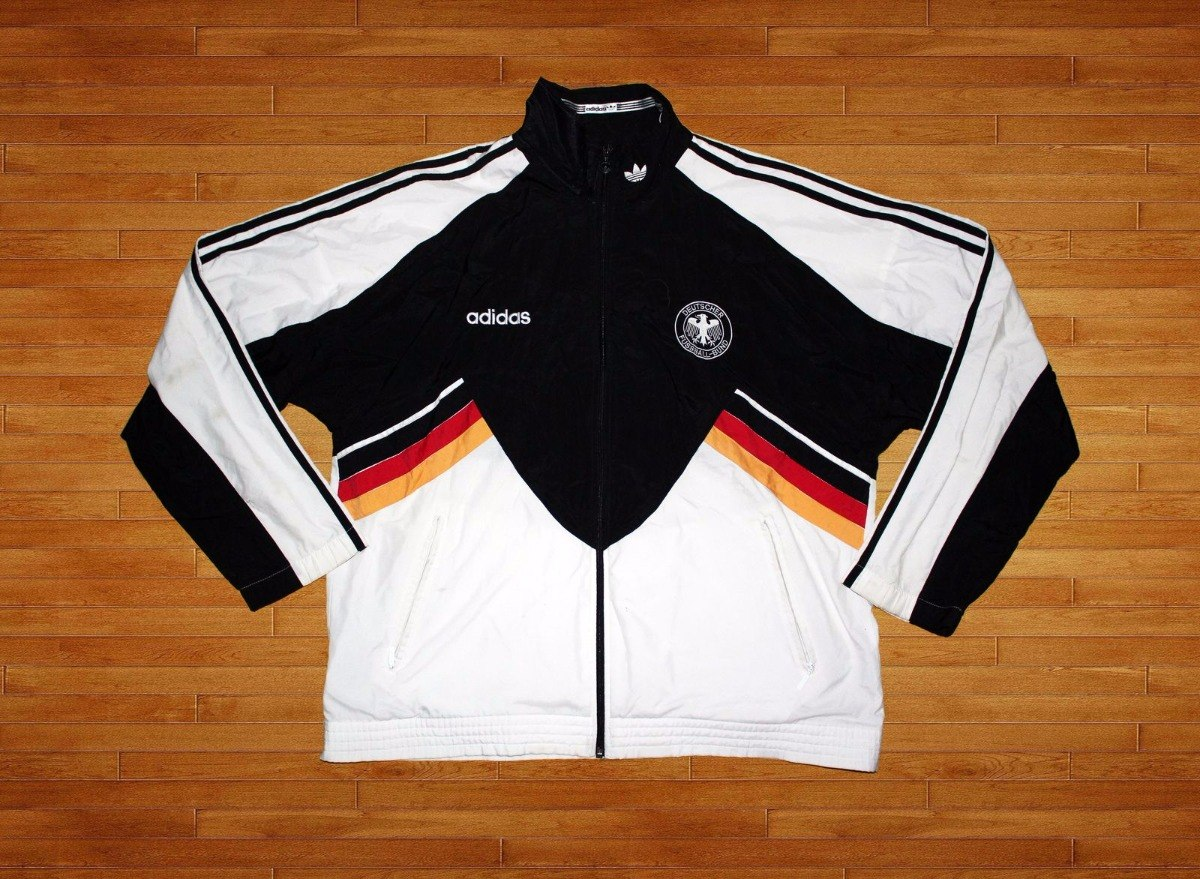 Adidas Chaqueta 25 Talla Usada Detalle En 90s 000 Alemania Xl dHCrxHqa
