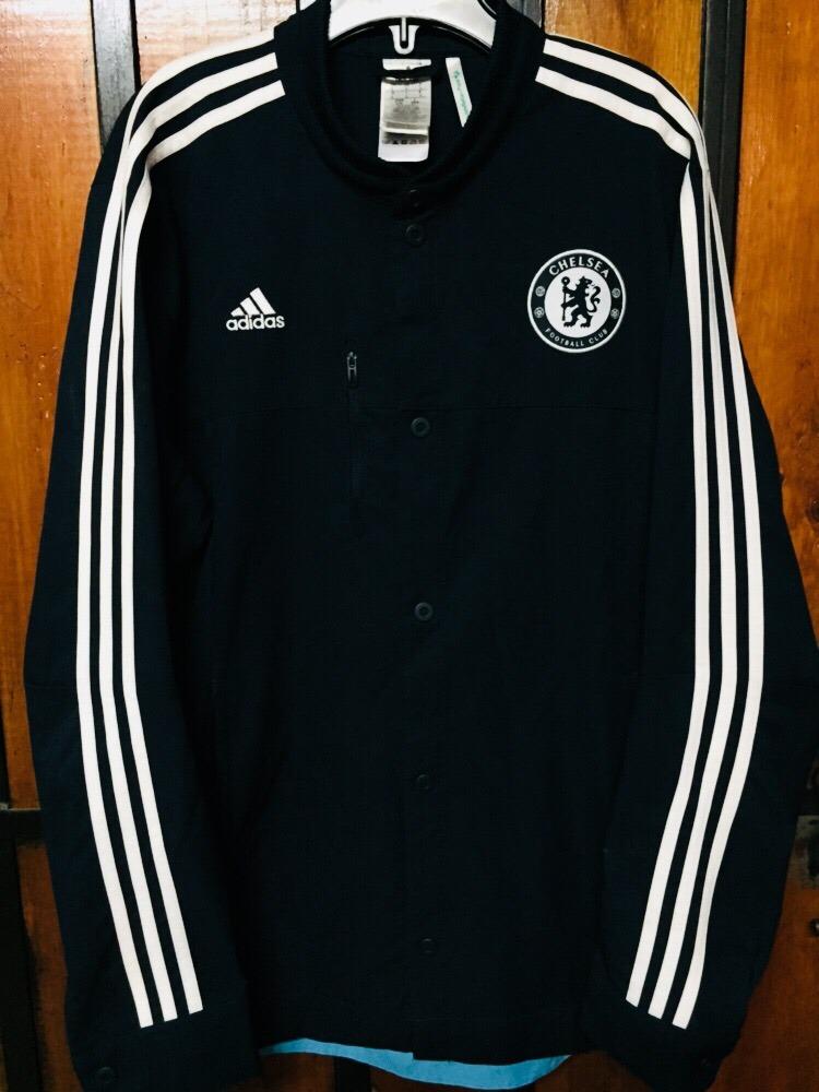 Azul Del 000 Talla Inglés Color En Adidas Chelsea Chaqueta L 30 Ow5q0nz