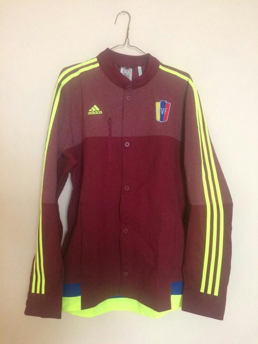 Adidas Futbol Chaqueta Fvf Vinotintoselección Venezuela OPnwk80X