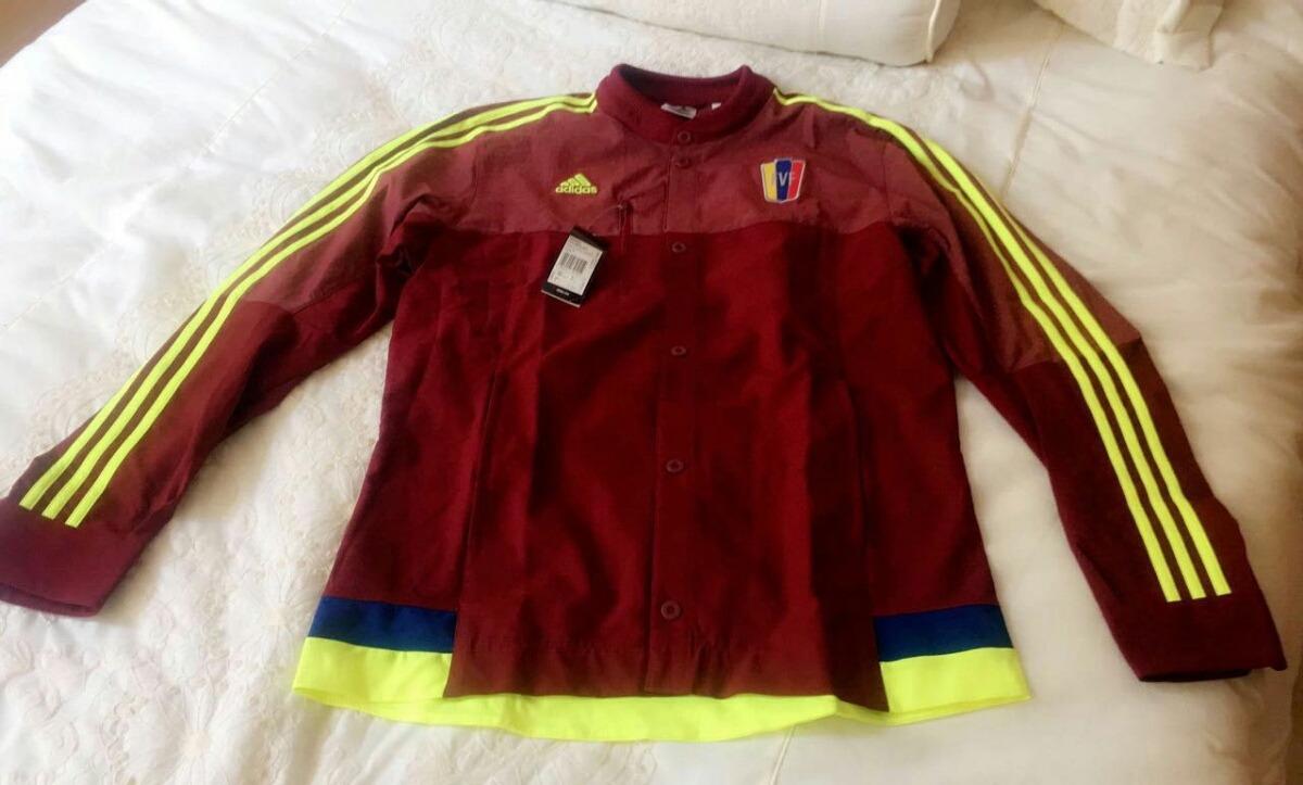 chaqueta adidas fvf vinotinto selección futbol venezuela. Cargando zoom. 6bfd9e37ab01a