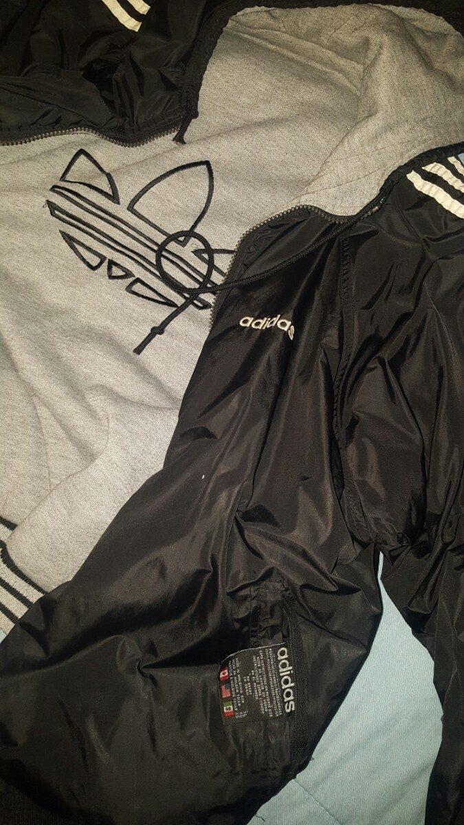 En Adidas Libre 000 25 Reversible Chaqueta Original 1znxve0 Mercado 8n0vONwm